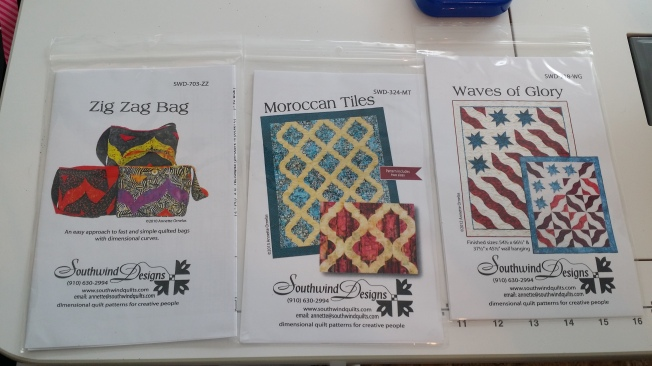Three more patterns!